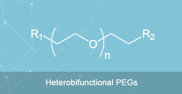 Heterobifunctional PEG