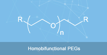 homobifunctional peg